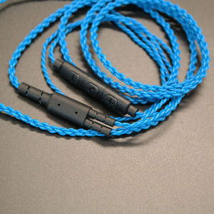 Image 5 - DIY ie800 headphone cable   Single crystal copper wires, 14 core X4 high end   earphone cable