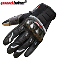 Carbon fiber motorcycle gloves 4wd automobile race full finger gloves ride flanchard gloves