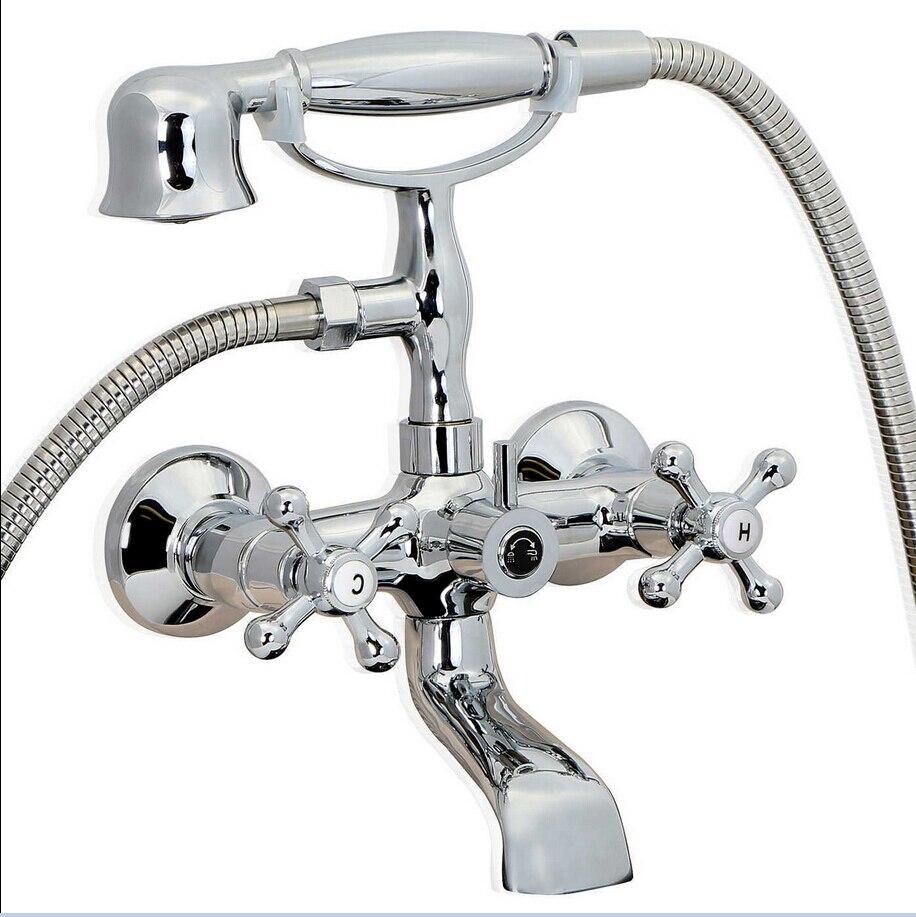 Popular Clawfoot Tub FaucetBuy Cheap Clawfoot Tub Faucet Lots - Clawfoot tub shower fixtures