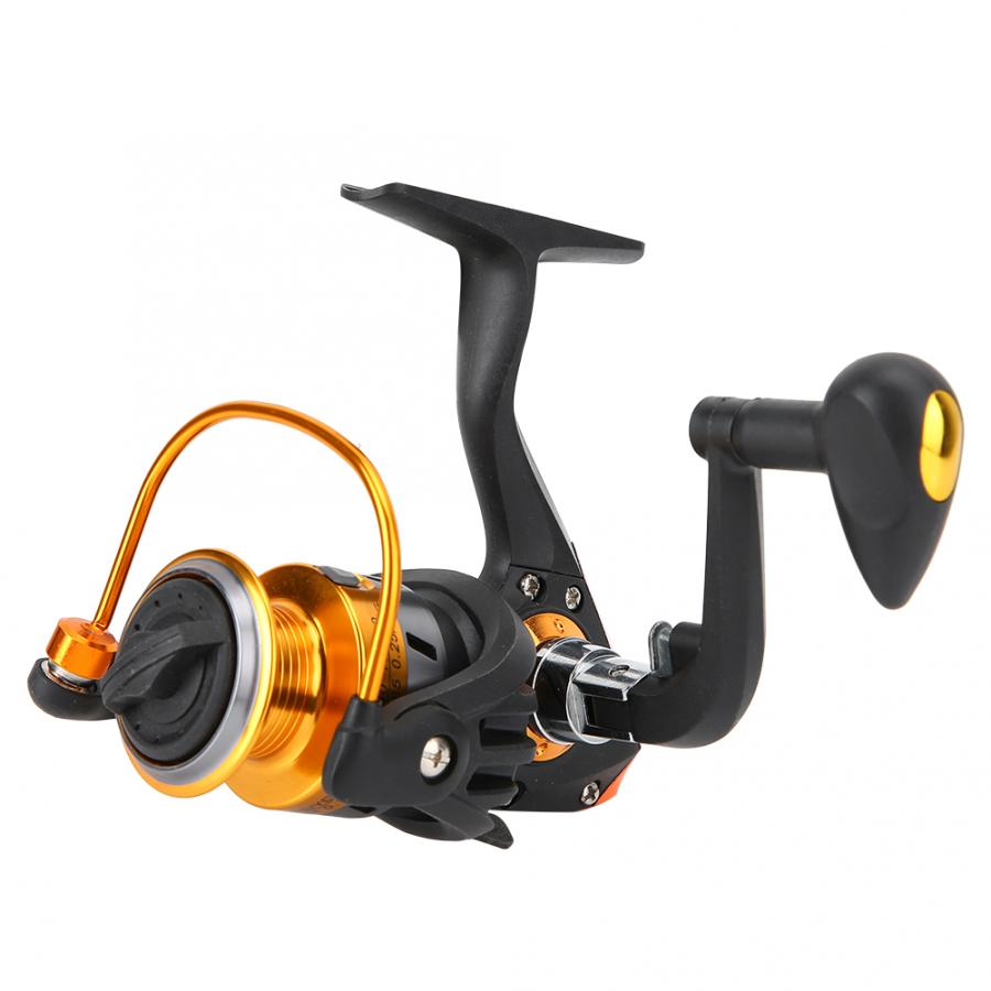 1000-5000 Series Fishing Reel 5.1:1 Spinning Fishing Reel Changeable Metal Handle Ocean Rock Fishing Wheel(China)