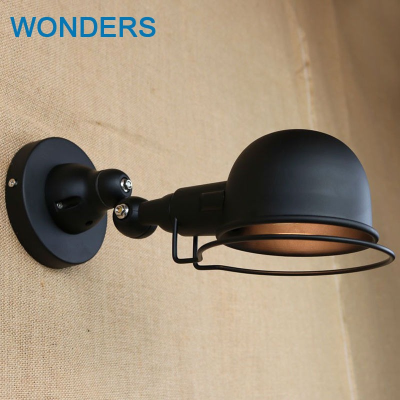 France Jielde Mechanical Arm retro Wall Lamps Left right upper and lower Retractable rotating Rod adjustment vintage wall lights