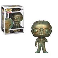 Official Funko pop Stan Lee (Patina) Vinyl Action Figure Collectible Model Toy with Original Box