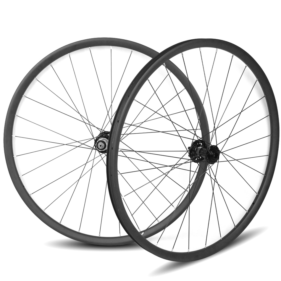 27.5er MTB carbon wheels t800 carbon mountain bike wheelset 24-50mm width rim style for XC/AM mountain bike novatec D791-792 Hub 27 5er mtb wheels width 35mm carbon mtb wheels novatec 791 792 thur axle 650b mountain bikes bicycle mtb wheels