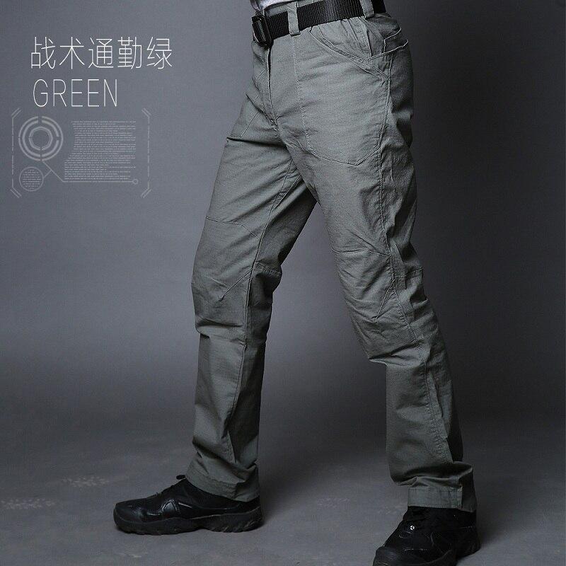 Новый ix10 militar городских тактические брюки tefon рип-стоп армии боевой поезд грузовой военные брюки мужские случайные на открытом воздухе брюки