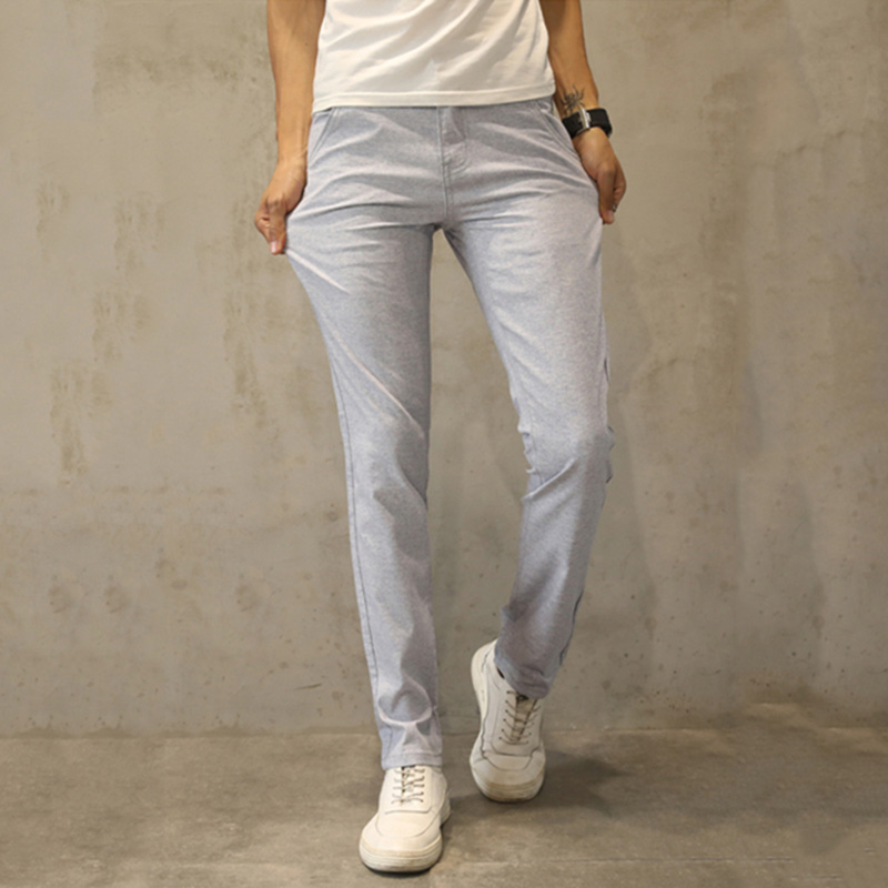 Hcxy 2017 High Quality Men'S Linen Pants Men Casual Summer Thin Trousers Men Pantalones Male Pants Size 38