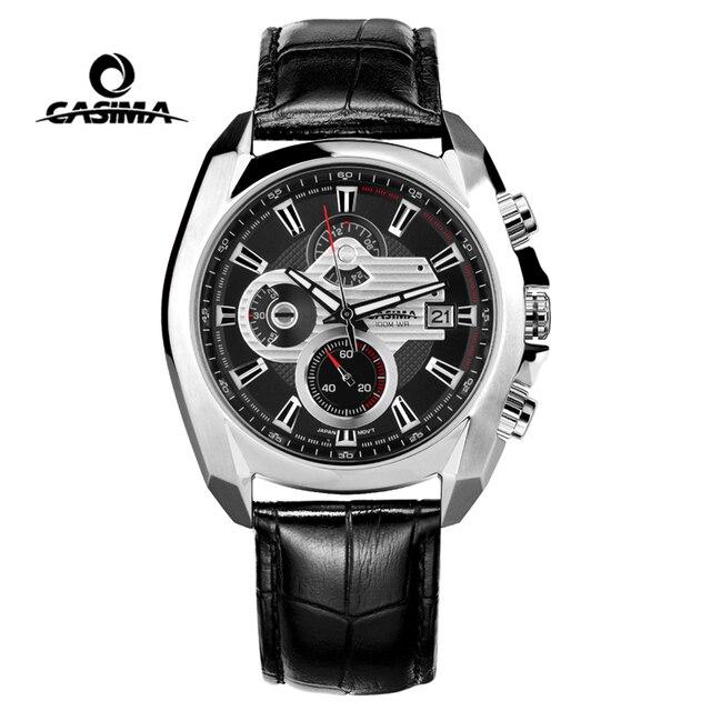 Reloj de lujo para Hombre, Reloj Masculino de pulsera, deportivo, militar, de cuarzo, cronógrafo luminoso