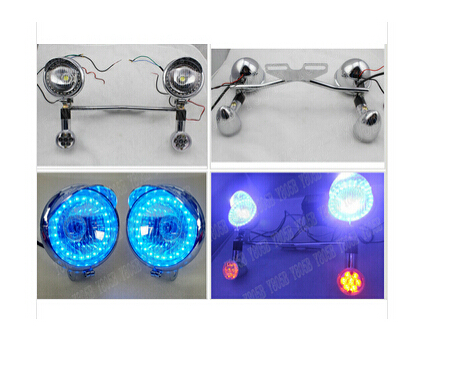 Led turn signal angel eye spot light bar for honda shadow spirit led turn signal angel eye spot light bar for honda shadow spirit sabre aero ace steed vlx 400 600 1100 dlx vtx1300 1800 magna in instruments from aloadofball Image collections