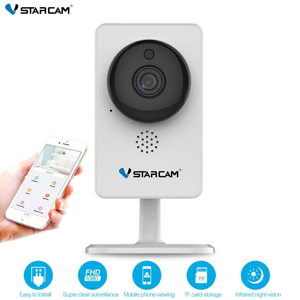 VStarcam cámara IP C92S 1080 p Wi-Fi Mini cámara de la visión nocturna infrarroja de alarma de movimiento Monitor de Video