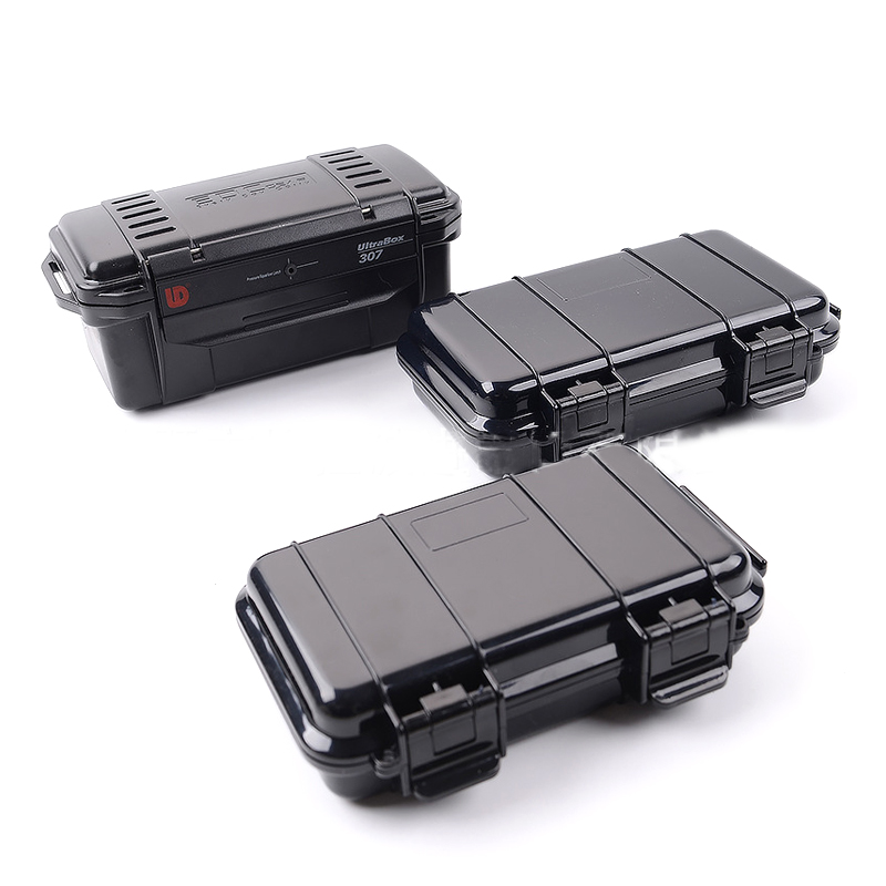 free shippi Outdoor shockproof and pressure-proof waterproof box Sealed box Field survival storage box Waterproof box 3 style