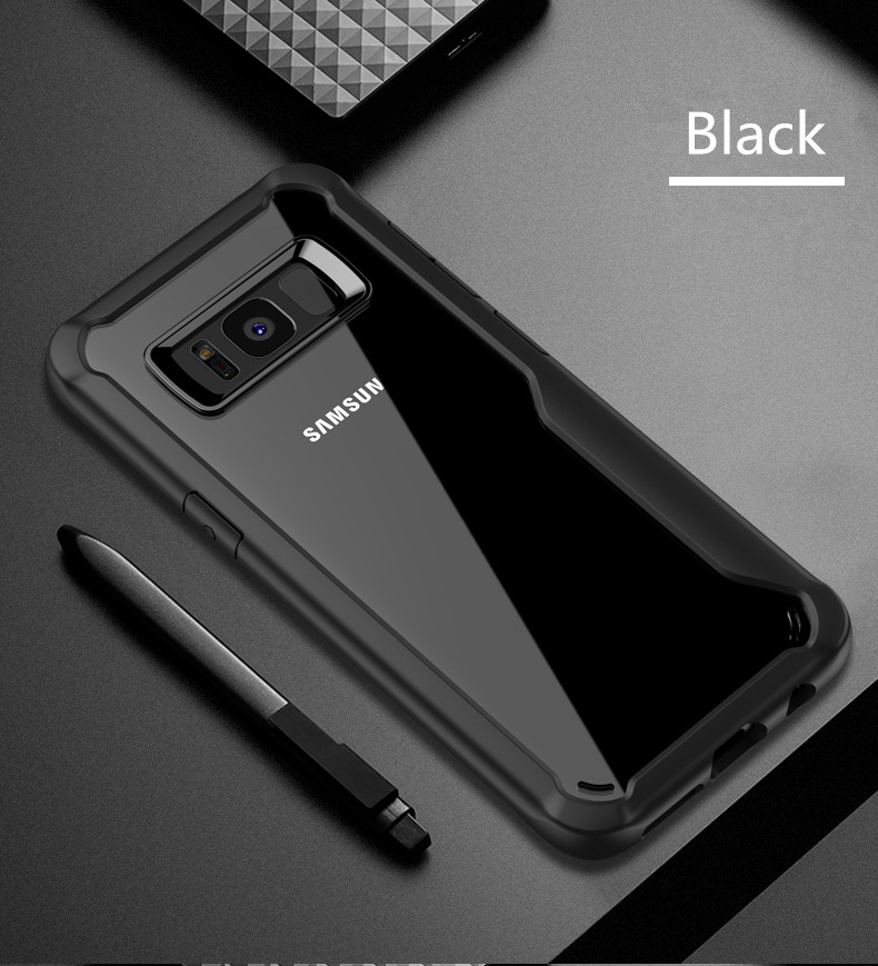 LUPHIE Shockproof Case for Samsung Galaxy S9 S8 Plus Note 8 A8 A6 Plus 2018  (14)