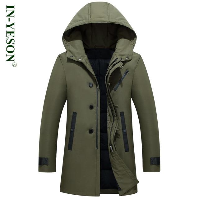 Neue Russland Winter Jacken Mens Marke Solide Starke Warme Lange Unten jacke  Männer Armee Thermische 90 9ae6a675de