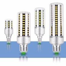 No Flicker LED Lamp E27 20W Corn Bulb E14 15W LED Light Bulb 220V High Power 5W 7W 9W 12W 18W LED Bulb Home Light 5736 SMD 110V 6w e14 ses led bulb 5w e14 halogen replacement 110v small edison screw base e14 led corn light bulb