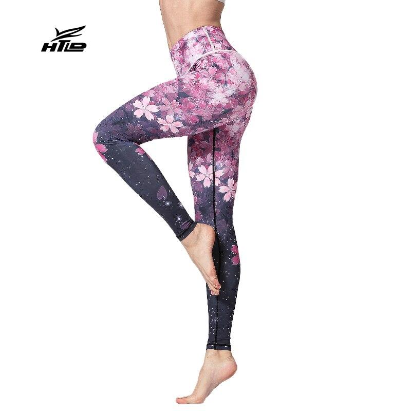 Elastic Fitness Active   Leggings   Women Sweatpants Print Skinny High Waist Leggins mujer Workout Jeggings Pants Pantalon femme