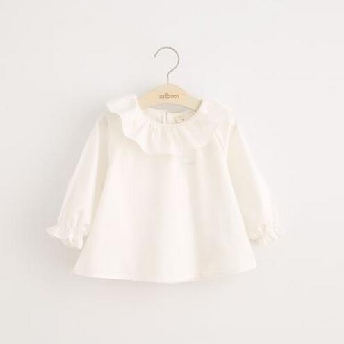 89c55cf747f Школьная рубашка дизайн обратно в школьные рубашки школьная блуза для  девочек белый Осенняя детская Сорочки выходные для мужчин для Обувь для  девочек ...