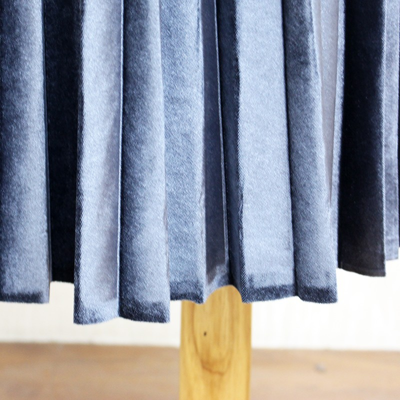 Women Long Metallic Silver Maxi Pleated Skirt Midi Skirt High Waist Elascity Casual Party Skirt 23