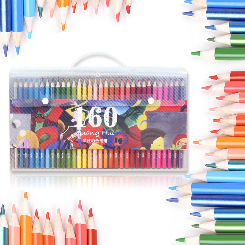120/136/160 Colored Pencils for Adults-Coloring Pencils Sets For Coloring Books Sketch Pads coloring of trees