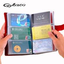 Лидер продаж Бизнес держателя карты Для женщин заграничного паспорта владельца натуральная кожа Обложка для паспорта ID держатель кредитной карты бумажник