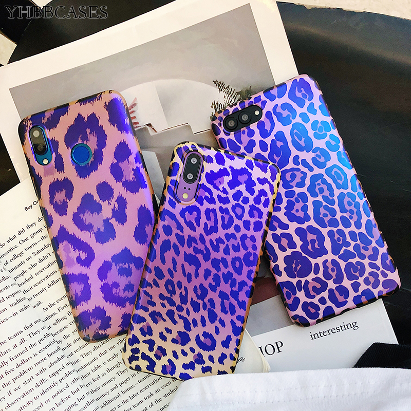 YHBBCASES <font><b>Sexy</b></font> Leopard Phone Cover For Huawei <font><b>Mate</b></font> 10 <font><b>20</b></font> Pro Honor V20 Retro Soft Cases For Huawei P30 P20 Pro Nova Blu-ray Case image