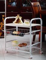 Stalen houten meubels/keuken ontvangen de rack/plank/snacks