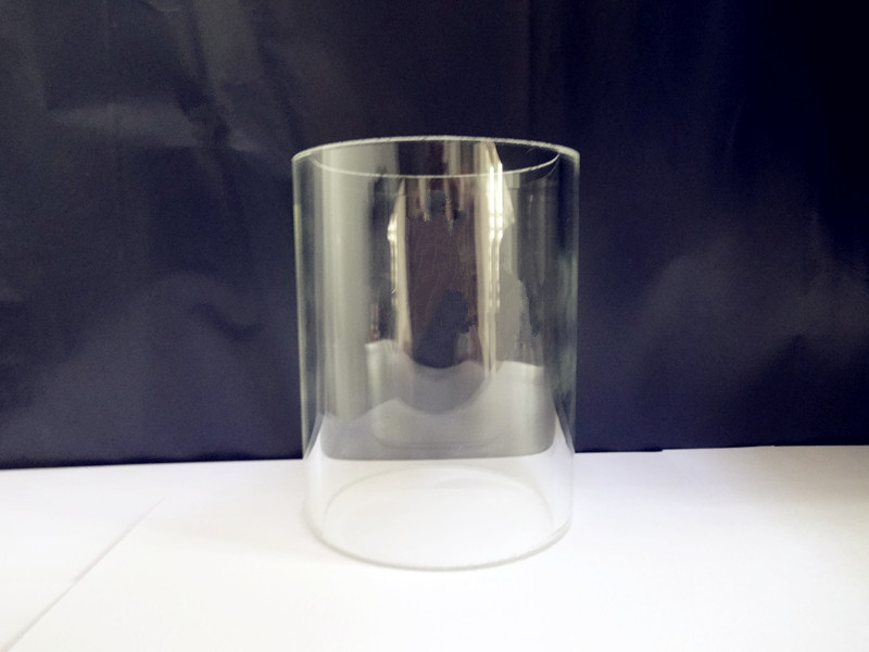 Free Shipping Borosilicate Glass Column, Outer Diameter 90mm ,Inside Diameter 80mm, Height 100mm  Glass Column