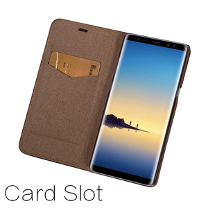 Image 4 - Musubo Ultra Slim Phone Case For Samsung S9 Plus S9+ Coque Genuine Leather Luxury Cases Cover Galaxy S8+ S8 Plus Flip Capa Card