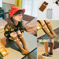 Girl Boy Calcetines Cartoon Fox Design Knee Autumn Winter Warmers Stockings Kids Girls Tights Warm Hose New Year Gifts For Baba