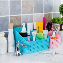BF050  Multifunctional desk box finishing storage basket 5case 14*14*14*7.5cm free shipping