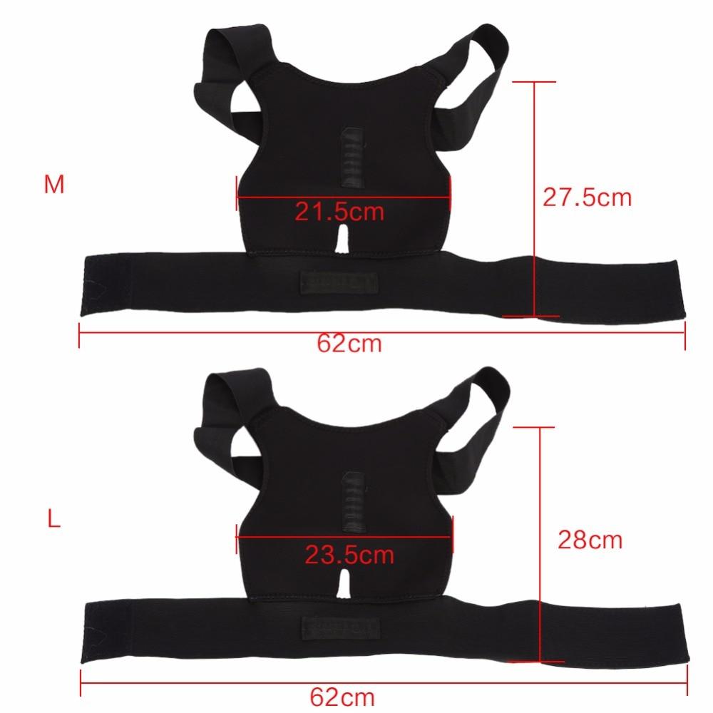Adjustable Back Brace Posture Corrector Spinal Lumbar Support Belt - Sadoun  Sales International