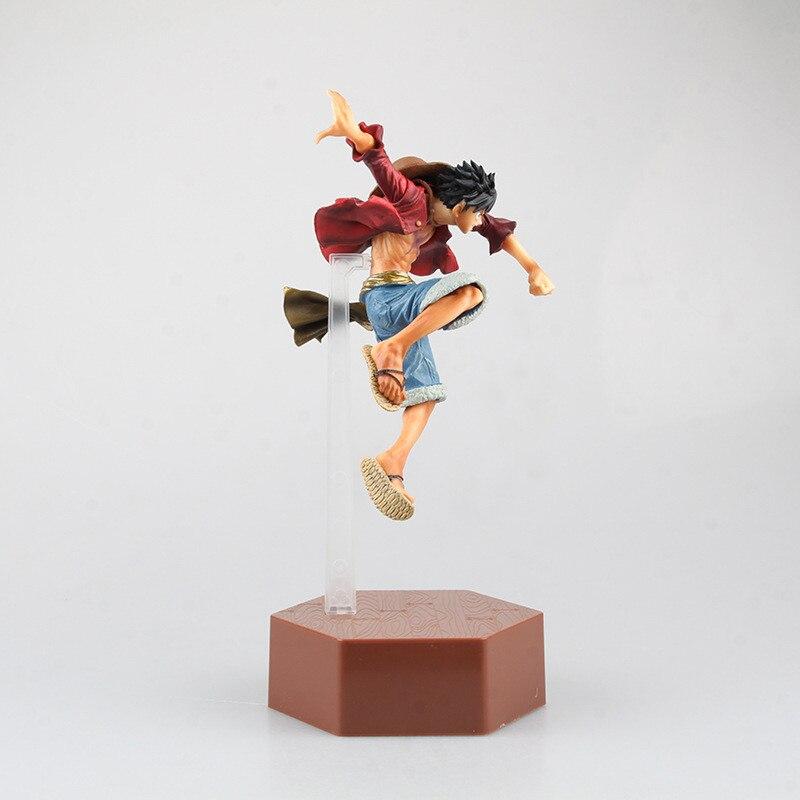 ФОТО 1pcs/set One Piece Figure Luffy 4 Generations New World Anime Figuarts Zero Monkey D Figure Japanese PVC 26CM Boxed S255