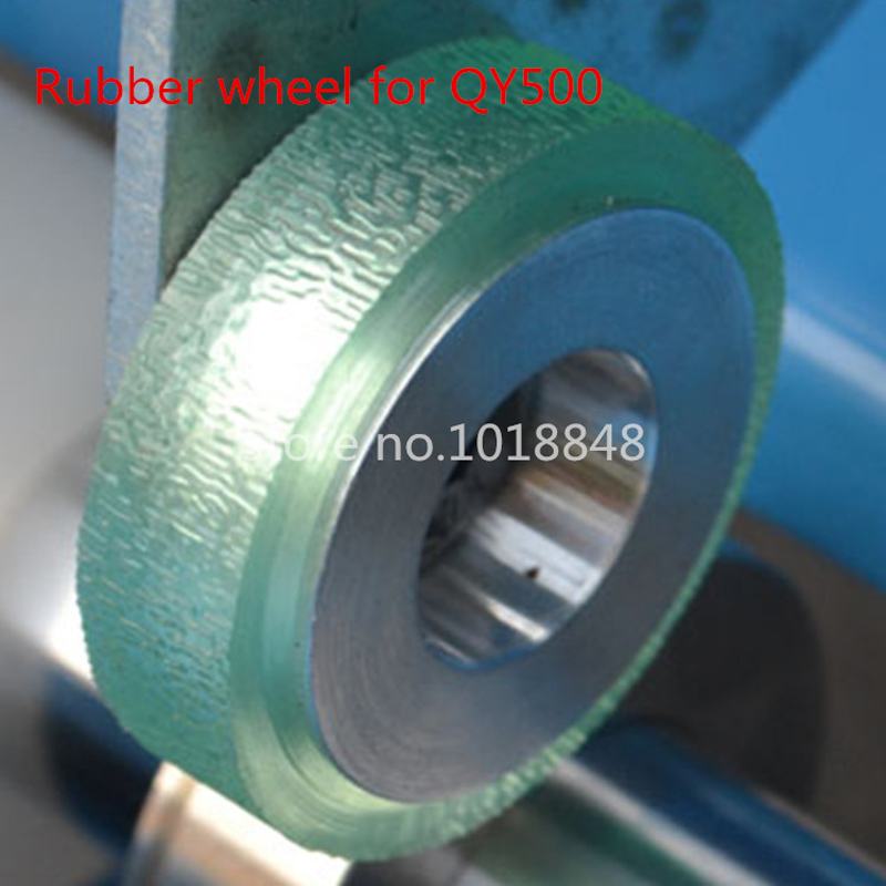 Rubber wheel for H500 Electric paper creasing machine book cover creasing cutting and creasing machine цены