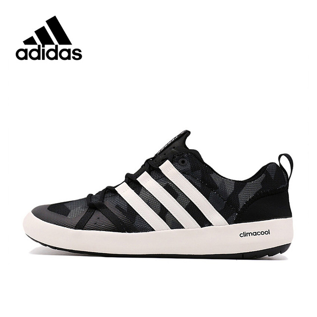 7c1a9c35ed11 Adidas Official New Arrival 2017 TERREX CC BOAT GRAPHIC Unisex Aqua Shoes  Outdoor Sports Sneakers S76774 S76775