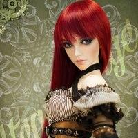 OUENEIFS bjd sd doll fairyland FeePle65 Angela 1/3 body model baby girls boys eyes High Quality toys shop resin