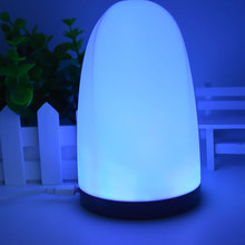 Silicone Touch Sensor LED Night Light For Children Baby Kids 7 Colors  USB Lamp