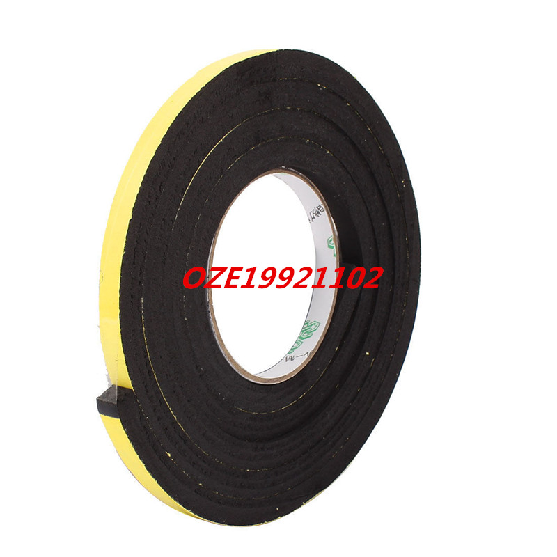 10 x 10mm Single Sided Self Adhesive Shockproof Sponge Foam Tape 2M Length 1pcs single sided self adhesive shockproof sponge foam tape 2m length 6mm x 80mm