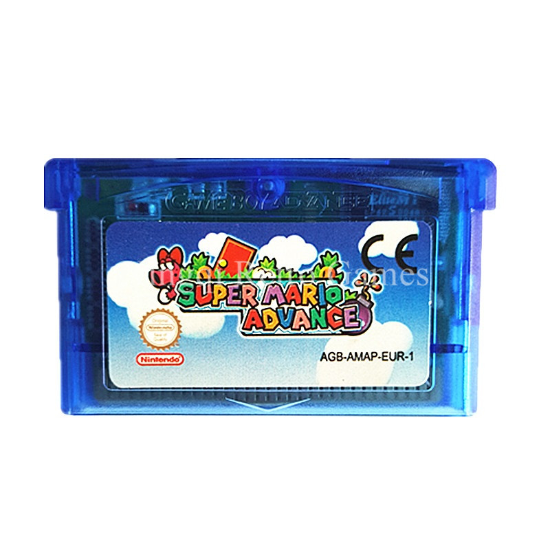 Nintendo GBA Game Super Mario Advance Video Game Cartridge Console Card EU English Language