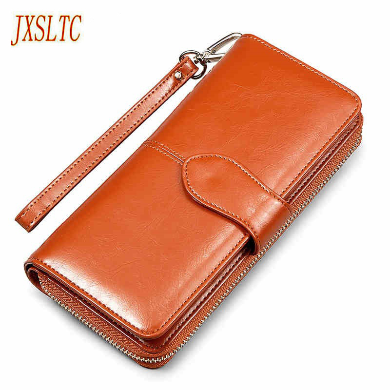 New Brand Leather purse Red Women Wallet Zipper Design Hasp Solid Card Bags Long wallet Female 4 Colors Ladies Clutch Wallet new brand colors purse plaid leather zipper wallet cards holder wallet for girls women wallet