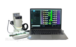 Image 5 - 2 في 1 USB 2.0mp يده انفصال الرقمية فيديو مجهر ستيريو البيولوجي مع وظيفة القياس