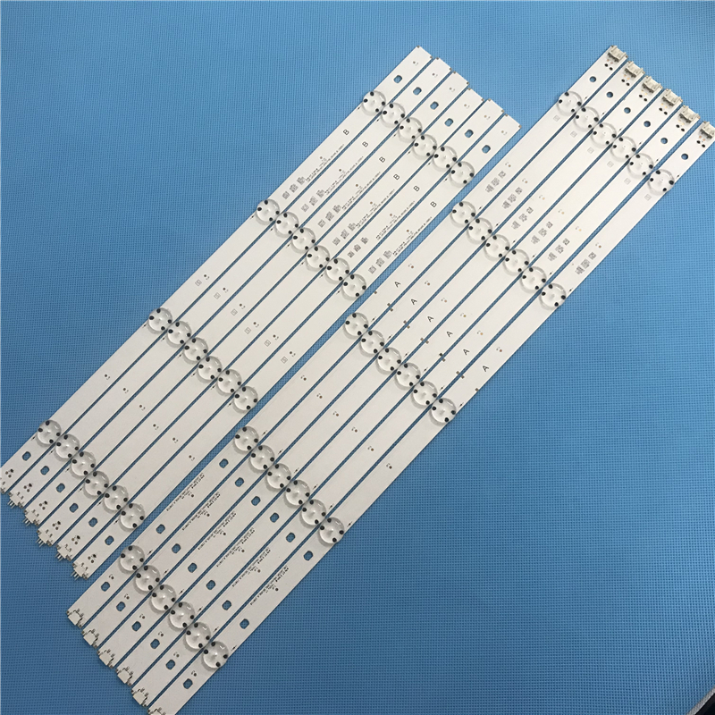 994mm 12 PCS(6*A 6*B)LED Backlight Strip For LG TV 49LF5500 LGE_WICOP_49inch_UHD/FHD_REV05_A LGE_WICOP_49inch_UHD/FHD_REV05_B