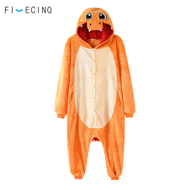 Charizard Kigurumi Anime Pokemon Charmander Cosplay Costume Men