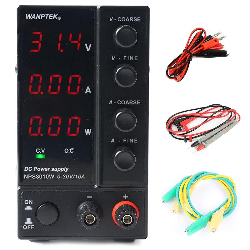 NPS306W/3010 W/605 W/1203 W réglable 30 V/60 V/120 V 3A 5A 6A 10A laboratoire régulé alimentation à découpage cc 0.1 V/0.01A/0.01 W