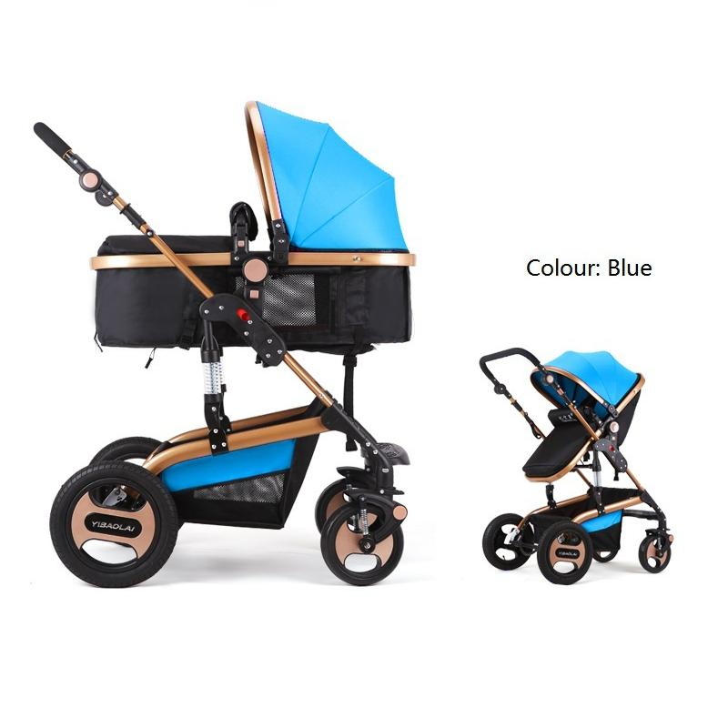 2016 Luxury Baby Stroller Six Colour Four Wheels Single Seat Fashion Style Foldable