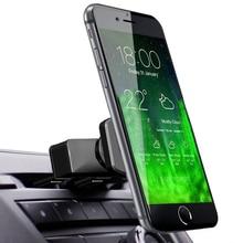 Soporte magnético Universal de la ranura del CD del coche del Smartphone soporte de la horquilla del soporte para el soporte del teléfono móvil del iphone 6s 8 7 plus