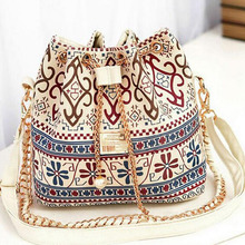 luxury handbags women bags newest design Plaid Chain shoulder bags summer casual beach ladies canvas crossbody bags for girls