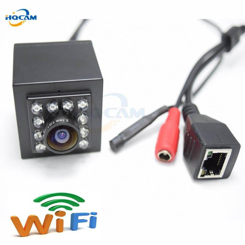HQCAM 1080 P Grand Angle 2.1mm Objectif de Vision Nocturne Audio mini wifi caméra Mini IR Caméra Intérieure 10 pcs 940nm Led Sans Fil Caméra Ip