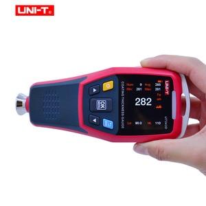 Image 3 - 厚さゲージ UNI T UT343D デジタルコーティングゲージメーター車ペイント厚さテスター FE/NFE 測定 usb データ機能