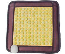 Good & Free Shipping! Natural Tourmaline Jade Mat Office Home Health Care Pad Yoga Mat 45*45CM Free Shipping