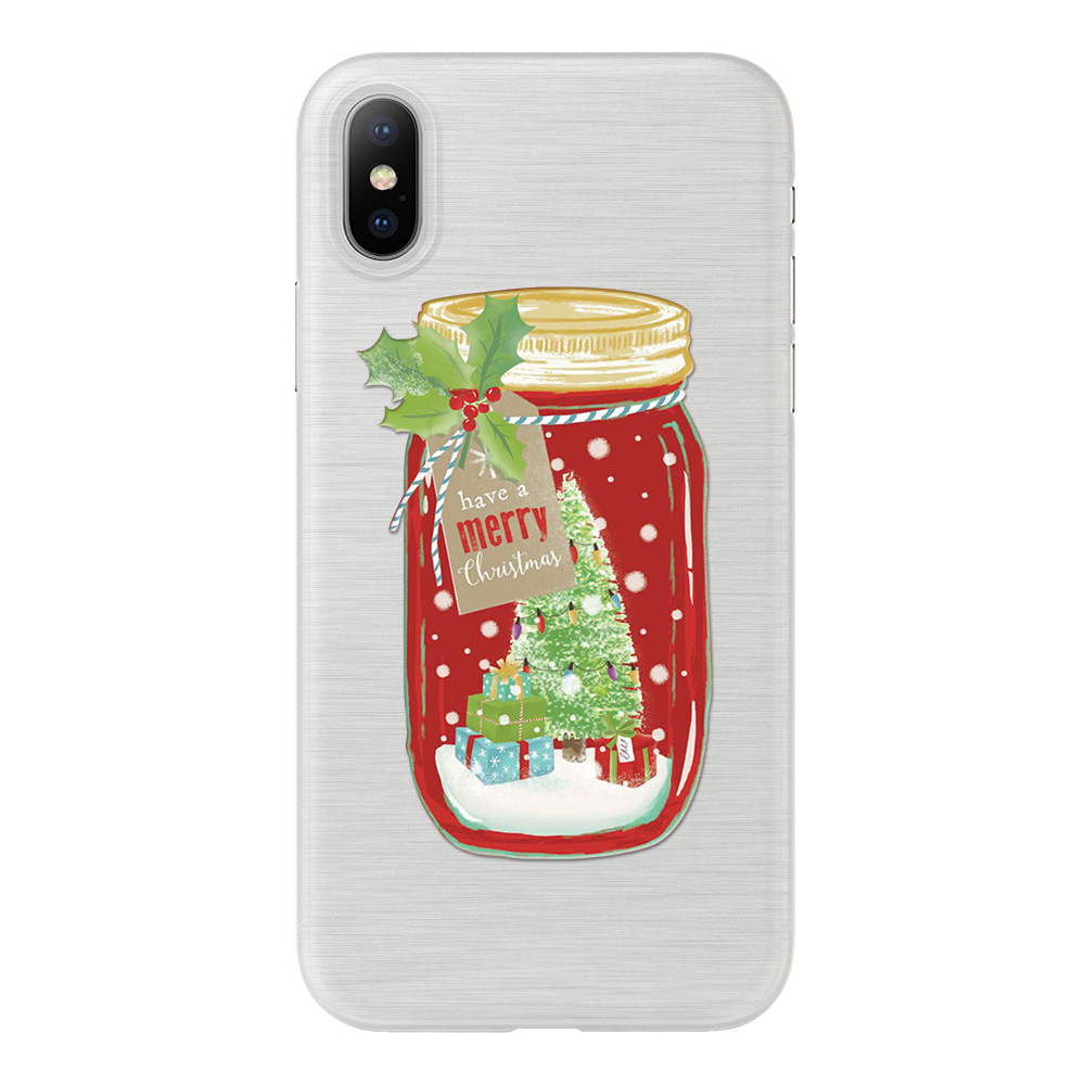 Christma Xmas sock Winter Lovely Phone Cases For iPhone 6 6s Plus ...