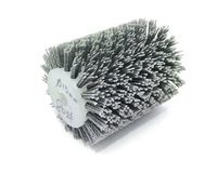 New 1pcs 120*100*13mm Nylon Wire Wood Brush Abrasives Wire Brush Wheel for 9741 Wheel Sander Wooden Furniture Polishing