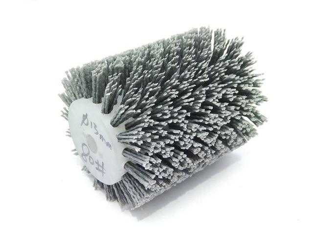 Nueva 1 piezas 120*100*13mm Nylon cepillo de madera abrasivos cepillo de alambre rueda de 9741 ruedas lijadora de madera pulido de muebles