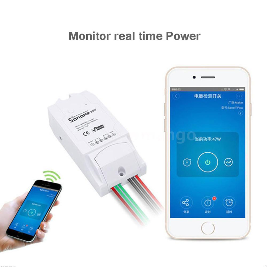 Sonoff th 10a 16a inteligente wifi interruptor